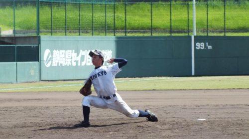 兵庫教育大先発・戸川投手